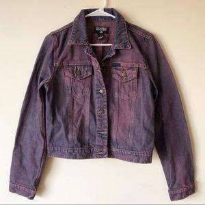 Polo by Ralph Lauren Purple Wash Denim Jacket, L